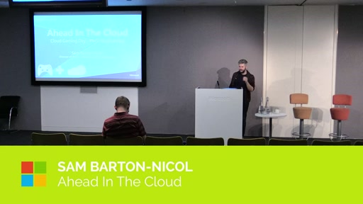 Ahead In The Cloud a overview from Mediatonic