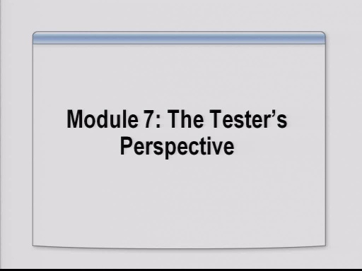 VS2008 Training Kit: The Testers Perspective