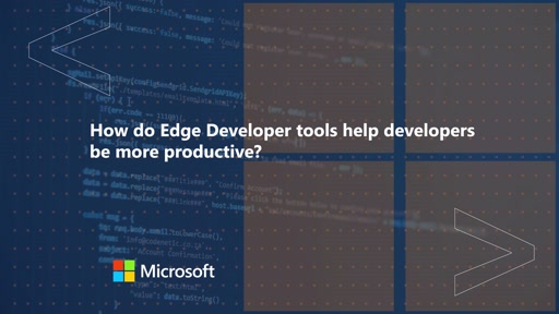 How do Edge Developer tools help developers be more productive | One Dev Question