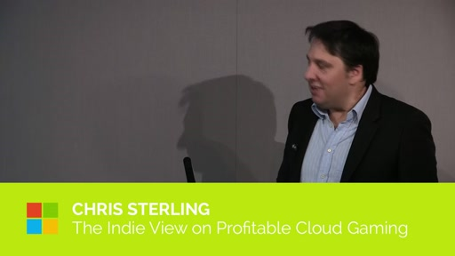 The Indie View on Profitable Cloud Gaming