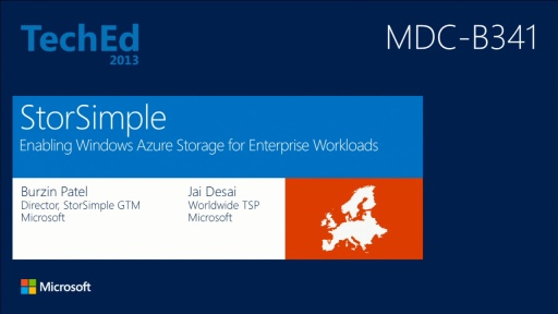 StorSimple: Enabling Windows Azure Storage for Enterprise Workloads