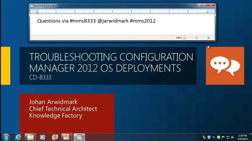 Troubleshooting Configuration Manager 2012 OS Deployments