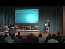 """Behind the Scenes: Microsoft, Open Source and Cloud Computing"": Gianugo Rabellino 