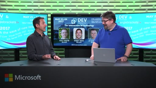 DEVintersection Countdown Show on Visual Studio 2017 with Robert Green