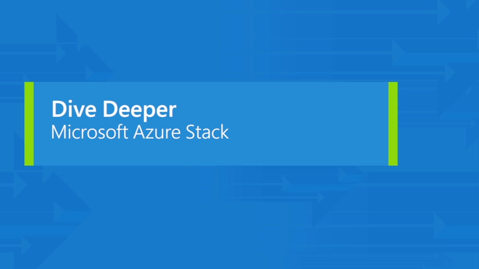 Bring Azure to your datacenter with Azure Stack