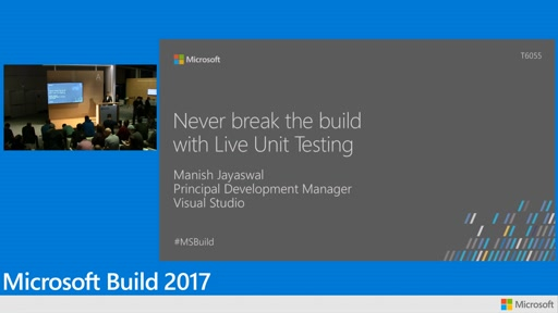 Never break the build with live unit testing
