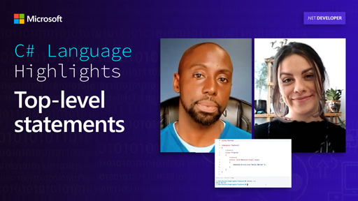 C# Language Highlights: Top-level statements