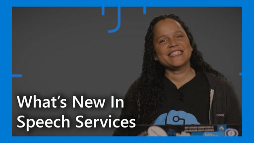 What's New in Speech Services: This Week in Cognitive