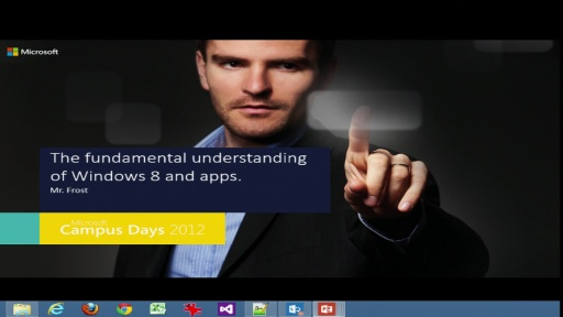 The fundamental understanding of Windows 8 and apps