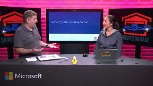Connecting UAVs with Azure Services