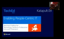 Katapult.09 - Neues von der TechEd - People-Centric IT: Vorstellung der neuesten Funktionen von Windows 8.1 Enterprise in Kombination mit System Center 2012 R2 und Windows Server 2012 R2