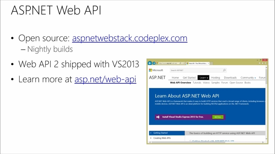 Developing Windows Azure And Web Services 06 Web Api