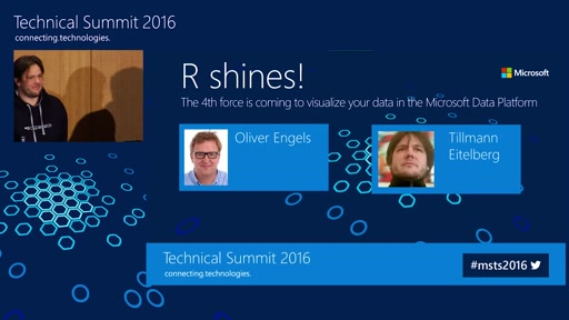 R shines! The 4th force is coming to visualize your data in the Microsoft Data Platform