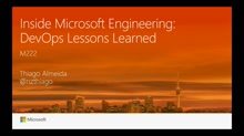 Inside Microsoft Engineering: DevOps Lessons Learned
