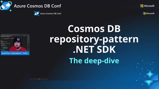 A deep-dive into the Cosmos DB repository-pattern .NET SDK