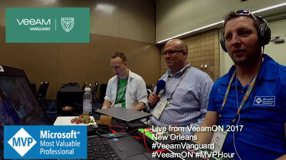Episode 72 - Interview with Rick Vanover at VeeamON 2017