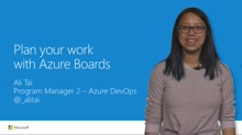 Plan your work with Azure Boards