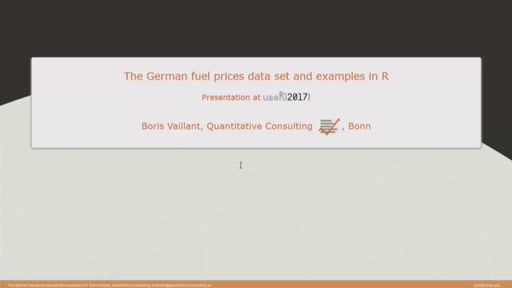 Analysis of German Fuel Prices with R