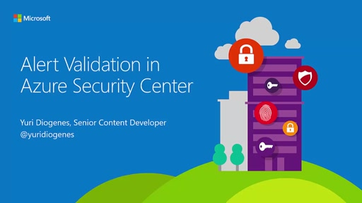 Alert Validation in Azure Security Center
