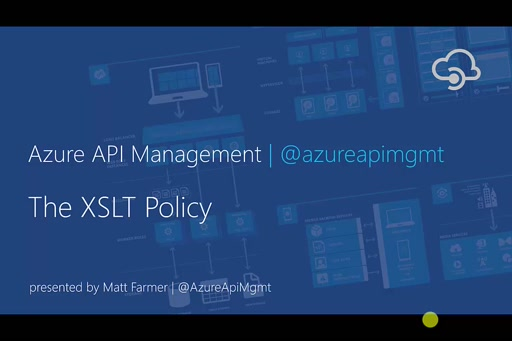 XSLT Policy in API Management