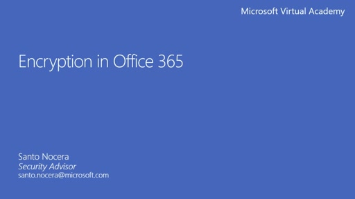 3 - Office 365 Message Encryption