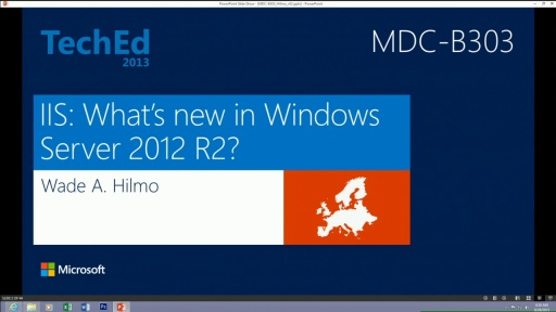 Internet Information Services: What's New in Window Server 2012 R2