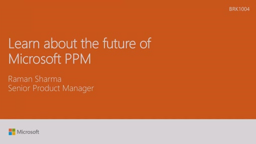 Learn about the future of Microsoft PPM