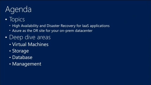 Building Reliable and Resilient Apps on Windows Azure Infrastructure Services (IaaS)