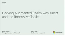 Hacking Augmented Reality with Kinect