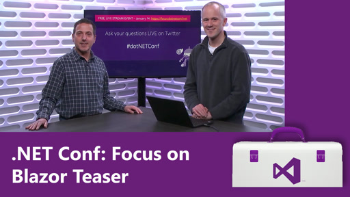 .NET Conf: Focus on Blazor Teaser