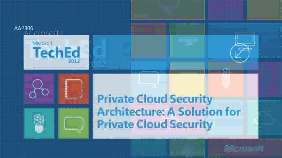 The Private Cloud: Building up a Self-Service Catalog | TechEd North ...