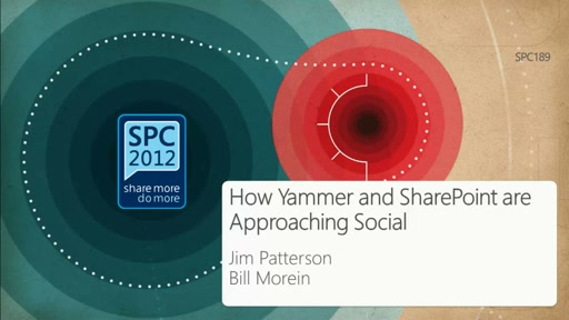 How Yammer and SharePoint are Approaching Social