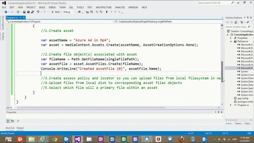 How to Build Customized Media Workflows Using the Media Services .NET SDK - Part I