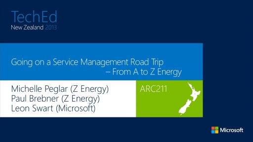 Going on a Service Management Road Trip – From A to Z Energy