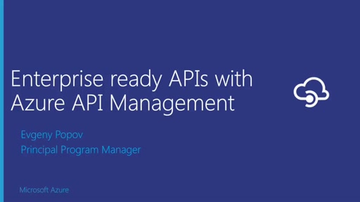Build, Host, and Manage Enterprise Ready APIs