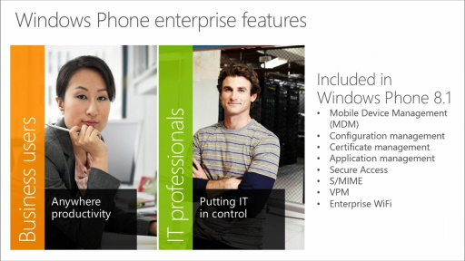 Building Apps for Windows Phone 8.1: (18) Windows Phone 8.1 for the Enterprise Developer