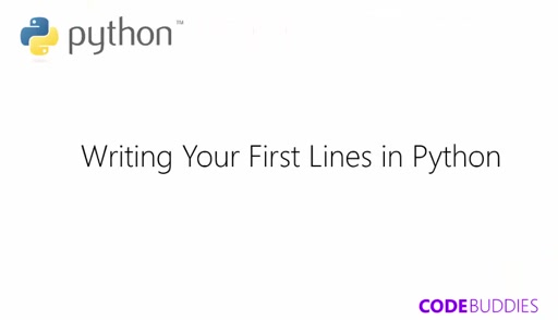 Adventuring Python | Writing your first Lines