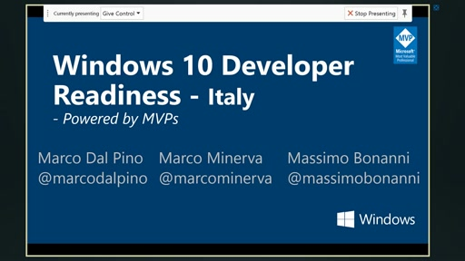 Windows 10 Developer Readiness [Italy]
