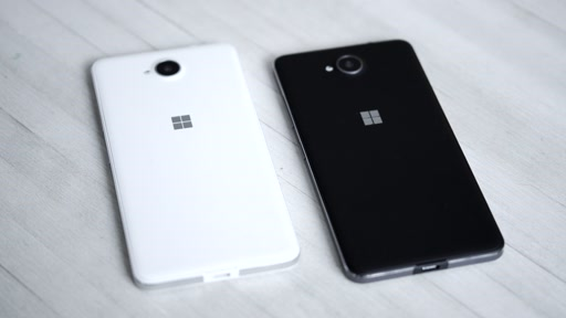 B-roll: Lumia 650 and Lumia 650 Dual SIM