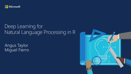 Deep Learning for Natural Language Processing in R