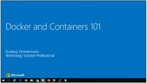 Docker e Containers 101