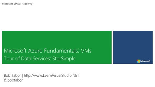 29. Microsoft Azure Fundamentals: Virtual Machines - Tour of Data Services: StorSimple [Vietnamese Subtitles]