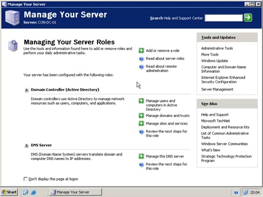 Установка Microsoft Exchange Server 2007 за 15 минут