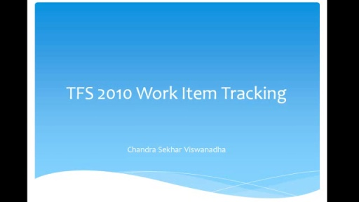 TFS 2010 workitem tracking part 5
