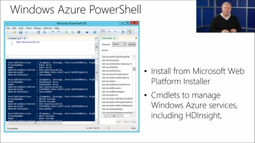 Implementing Big Data Analysis: (03) Windows Azure PowerShell
