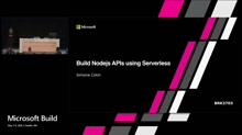 Build Nodejs APIs using Serverless