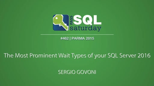 The Most Prominent Wait Types of your SQL Server 2016