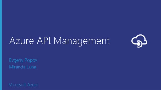Publish and Manage APIs with Azure API Management