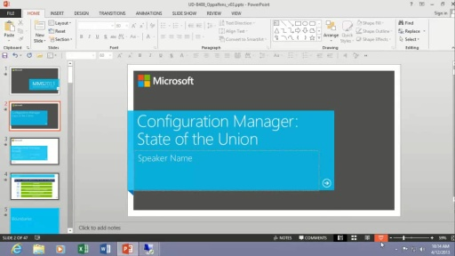 Configuration Manager ... Actually