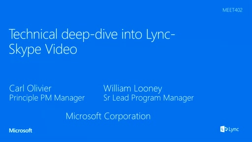 Technical deep-dive into Lync-Skype Video